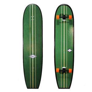 Simulador de Surf para Longboard Classic 180x41cm Handmade Verde Duke