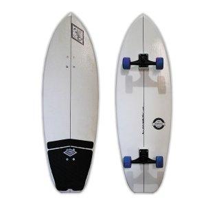 Simulador de Surfe Mini To Fly sistema Bucha 115x35cm Branco